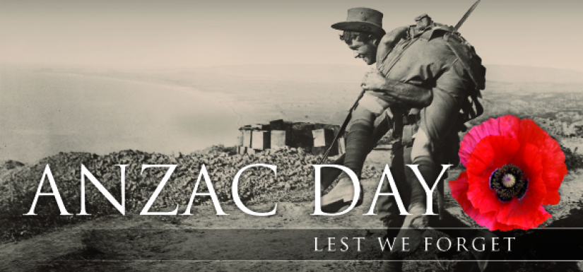 ANZAC Day 25 March